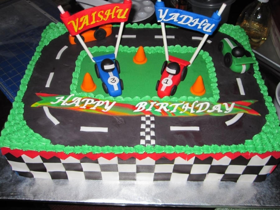 Fantastic Race Car Birthday Cake Cakecentral Com Funny Birthday Cards Online Elaedamsfinfo
