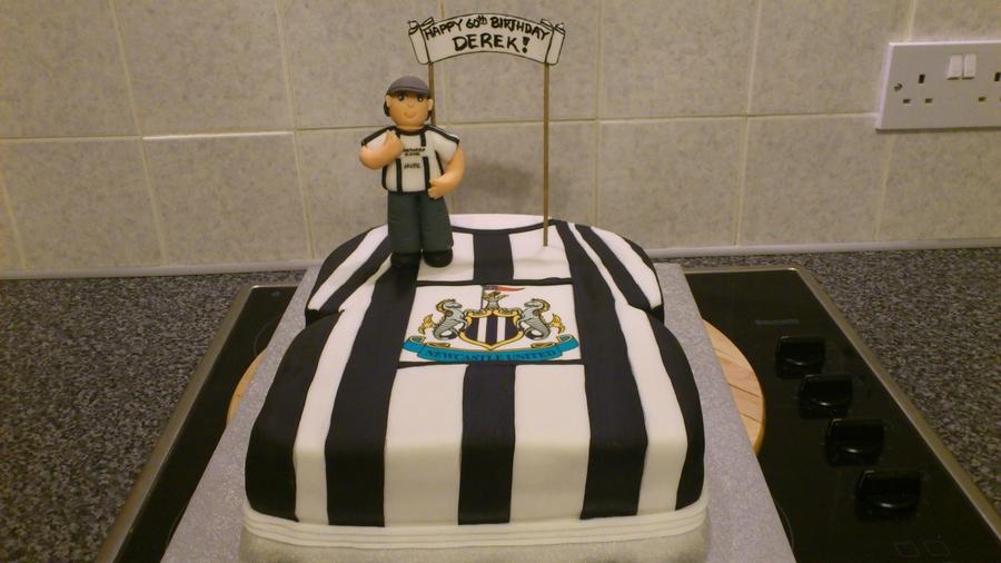 Newcastle United Cake Decorations