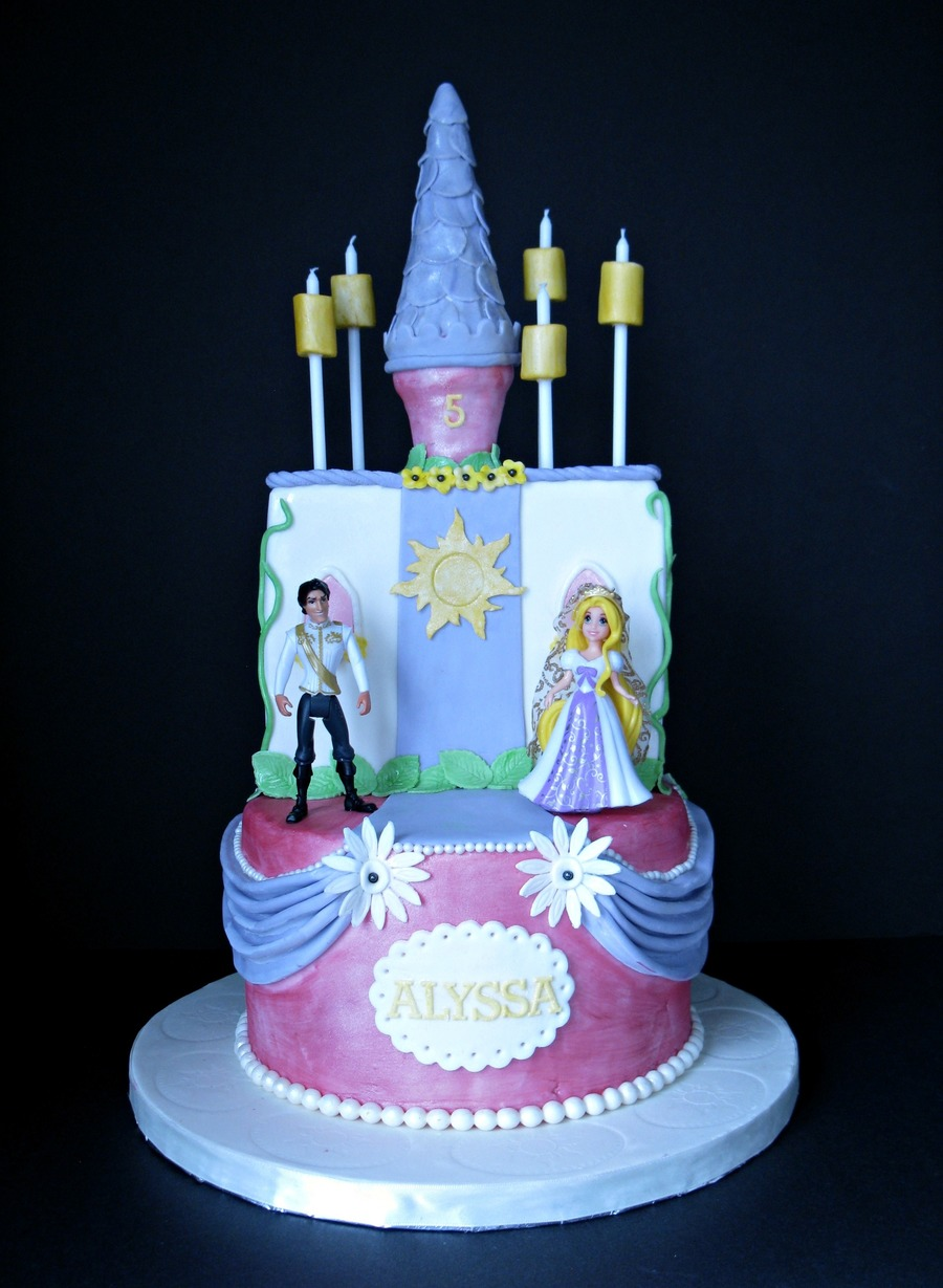 Wedding Rapunzel Cake on Cake Central