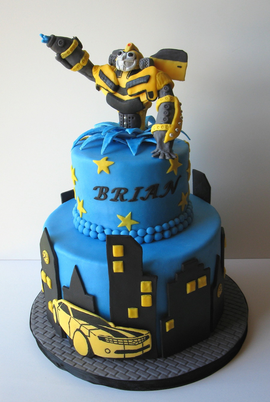 transformer cake ideas transformer cake cakecentral 8051