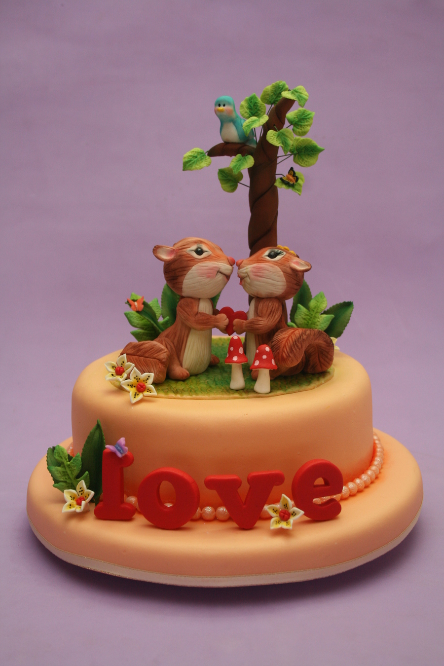 Squirrels In Love on Cake Central