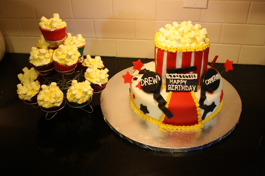 Movie Night Cake on Cake Central