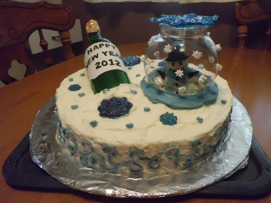 Winter New Years on Cake Central