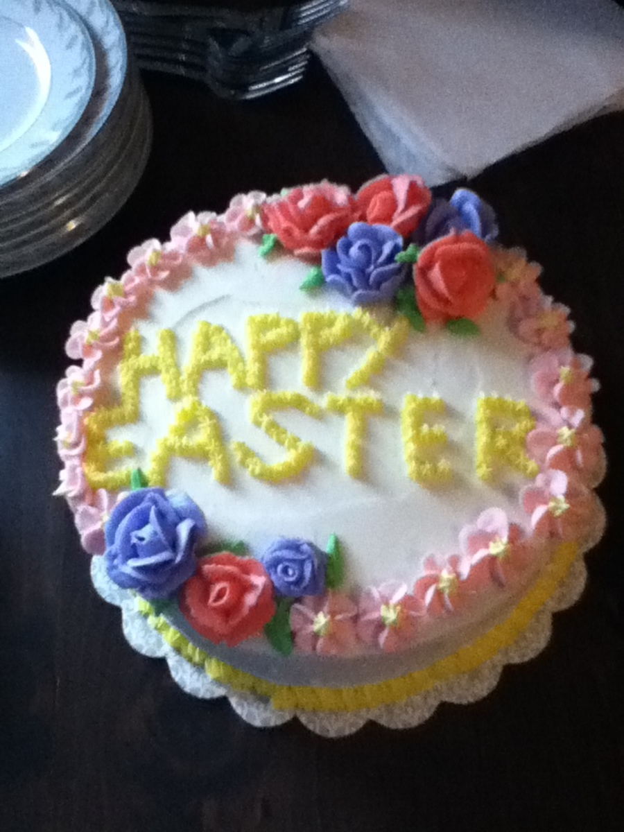 Easter Flowers on Cake Central