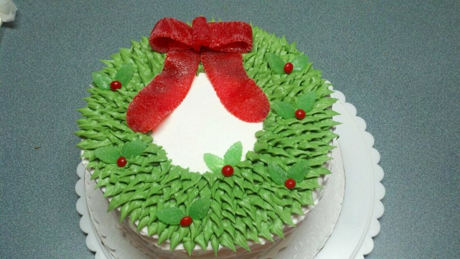 Christmas Raffle Cake on Cake Central