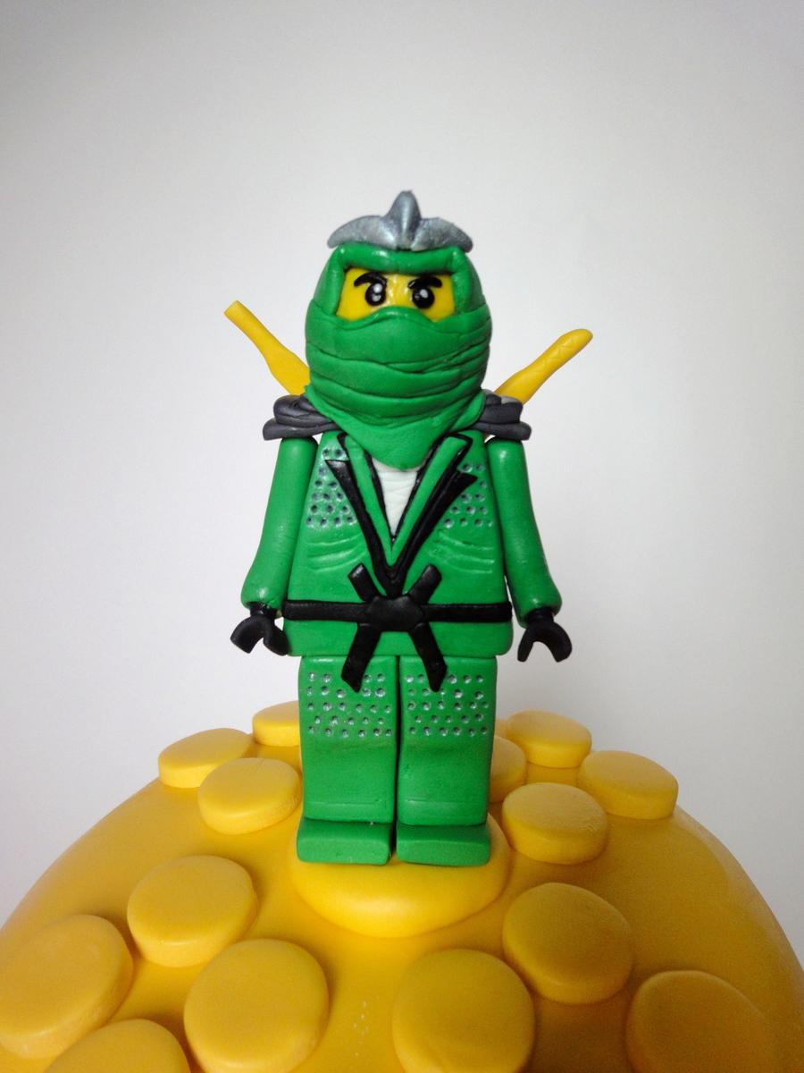 Green Ninjago Cake Cakecentral Com