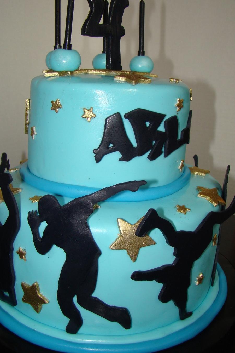 Hip Hop Dance Cake Cakecentral Com