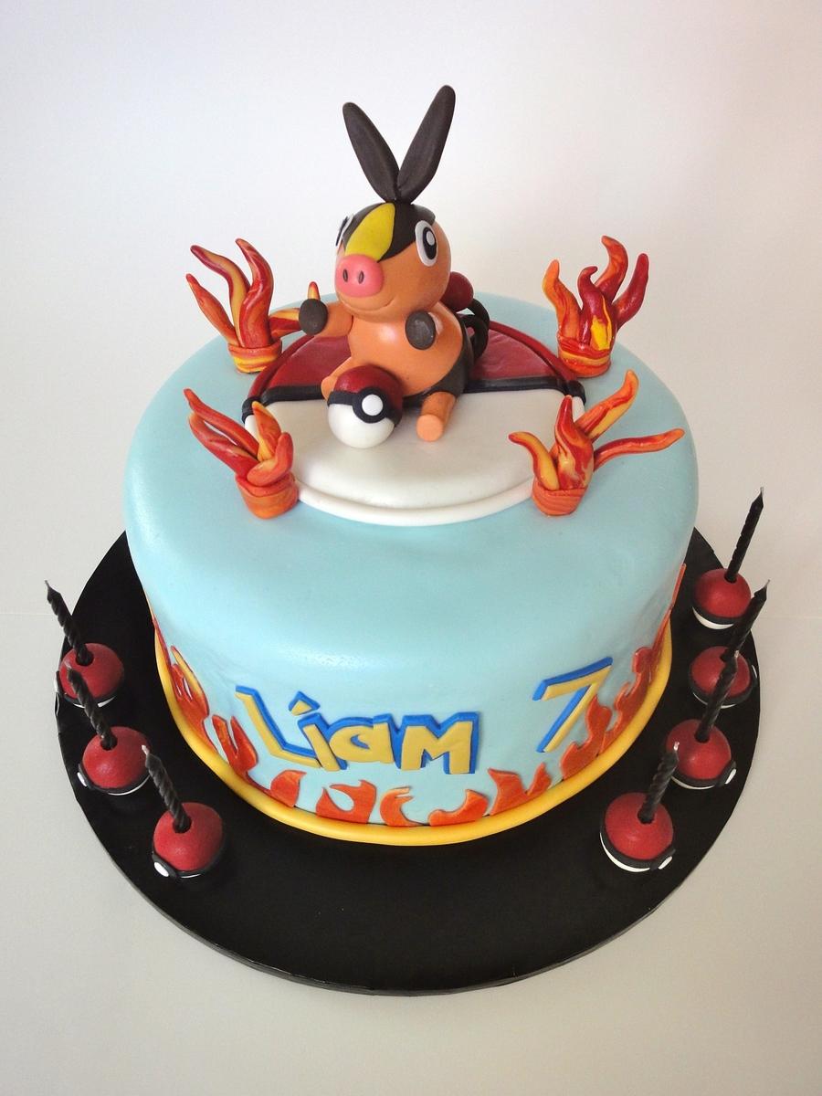 Tepig Cake Cakecentral Com
