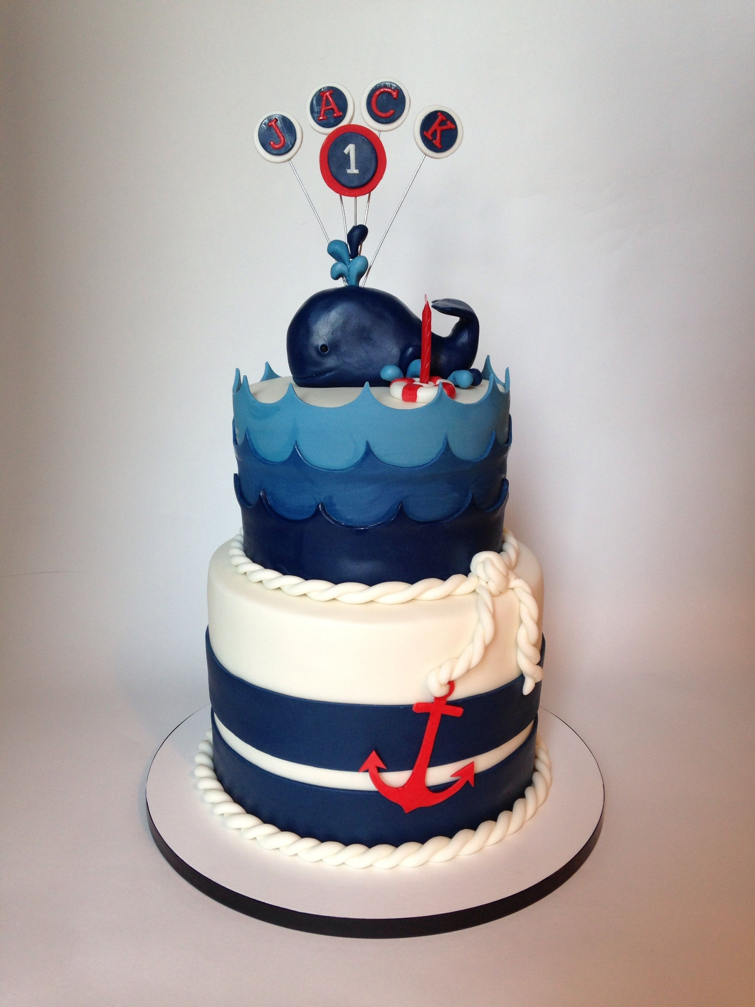 how to make a whale cake