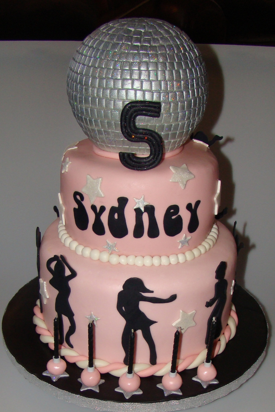 Dance Themed Cake Toppers