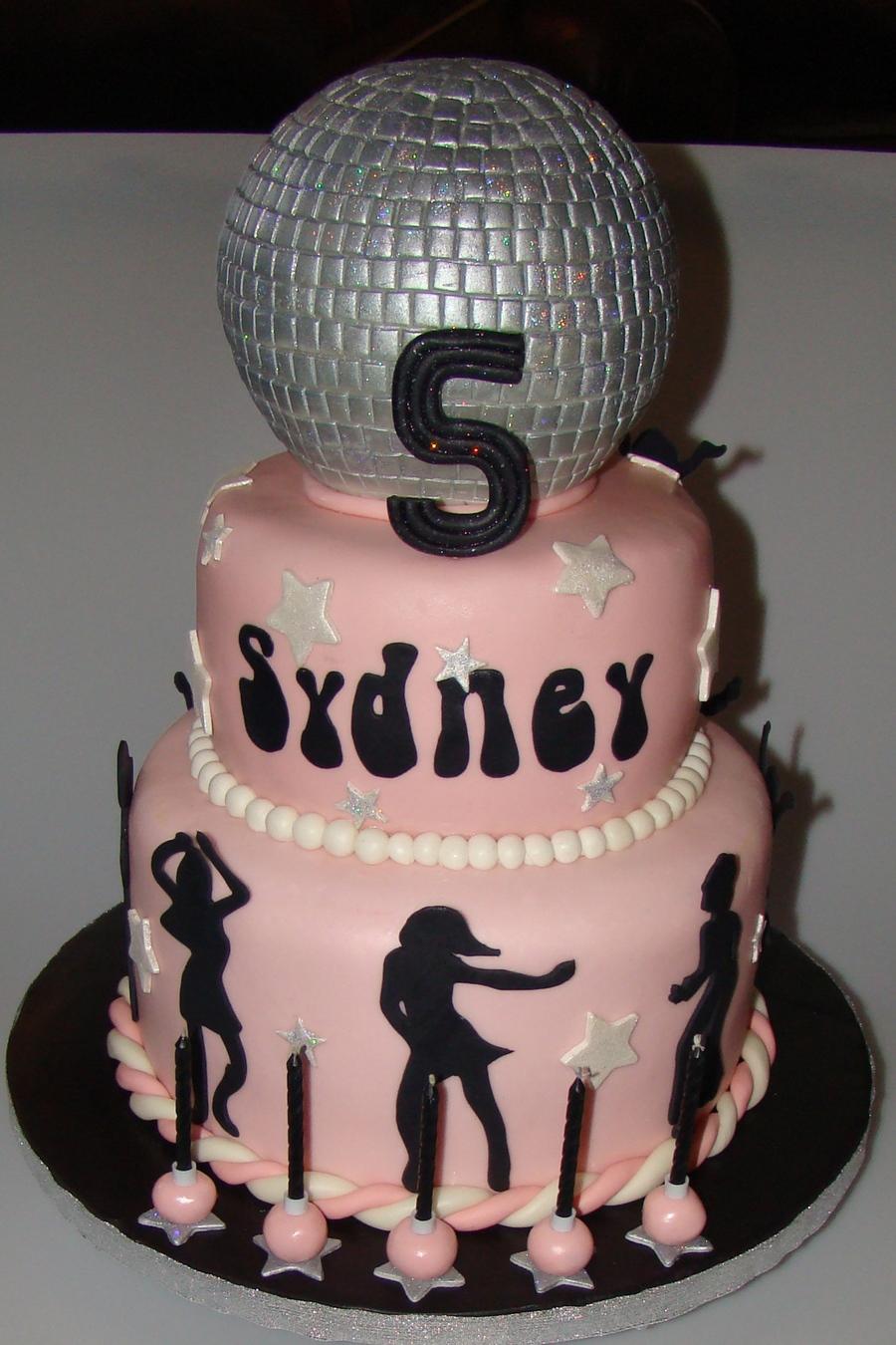 Disco Party Cake Ideas