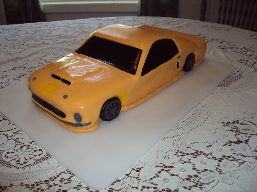 Ford Mustang on Cake Central