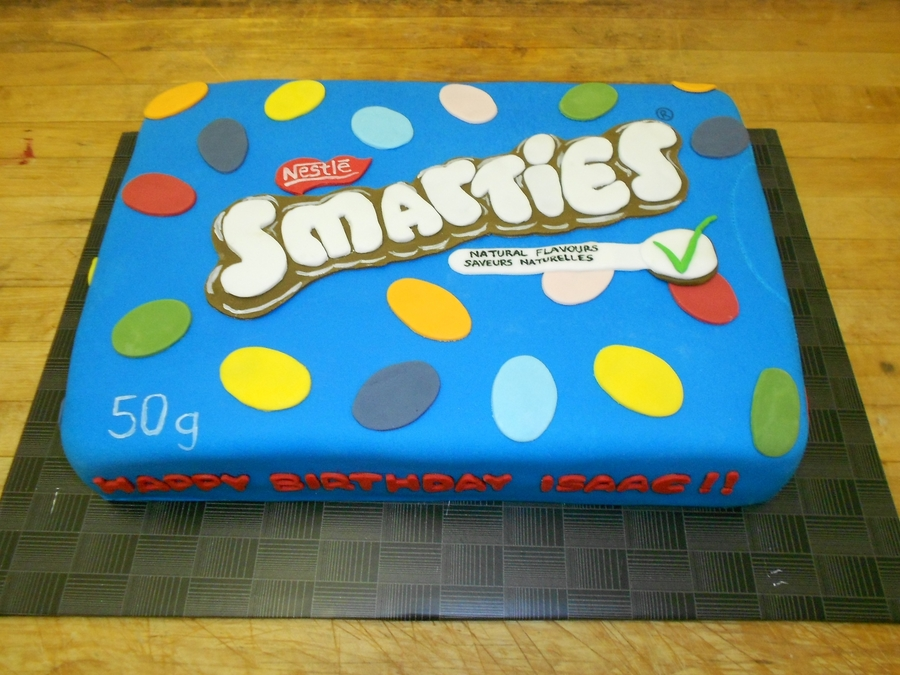 Smarties Box Cake On Central