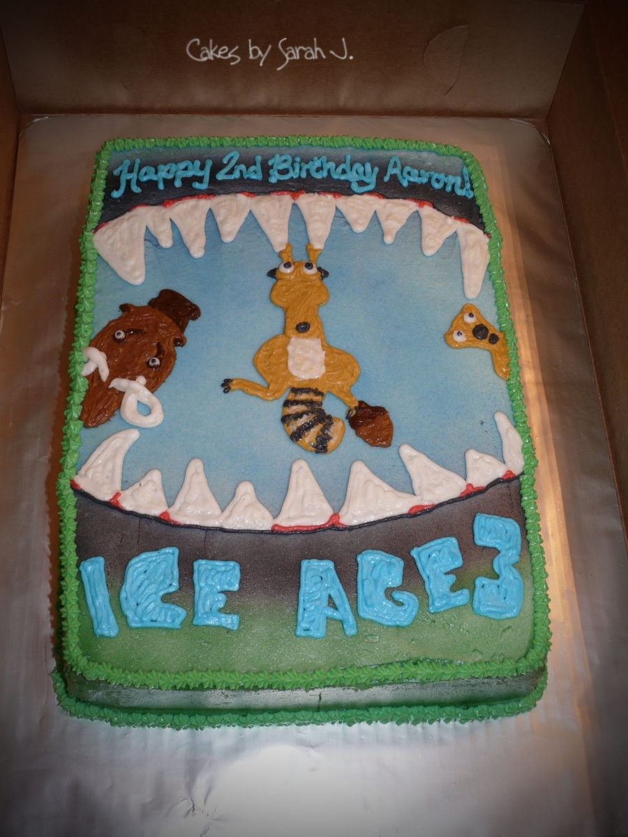 Ice Age on Cake Central
