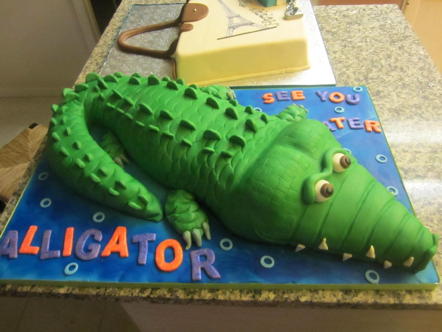 See You Later Alligator! on Cake Central