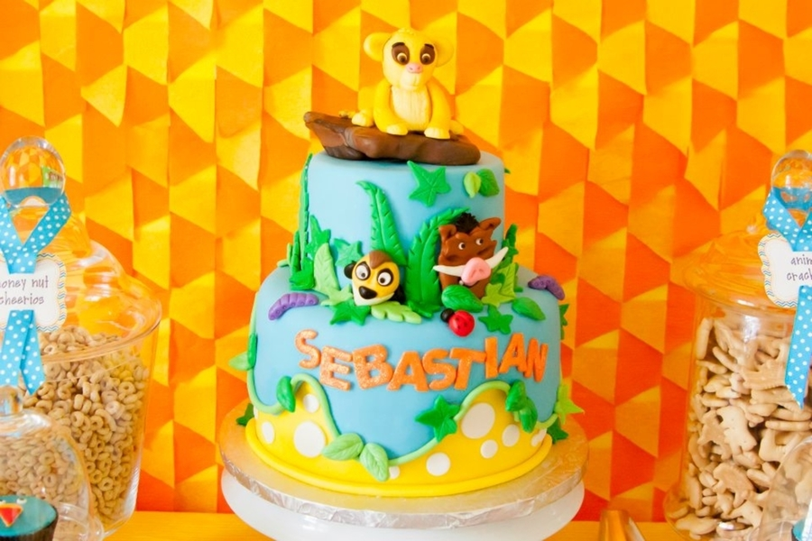 Lion King 1st Birthday Cakecentral Com