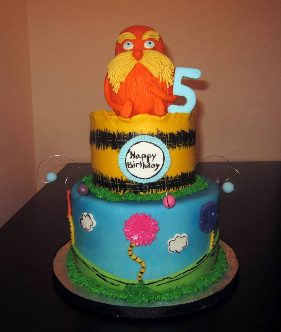 The Lorax! on Cake Central
