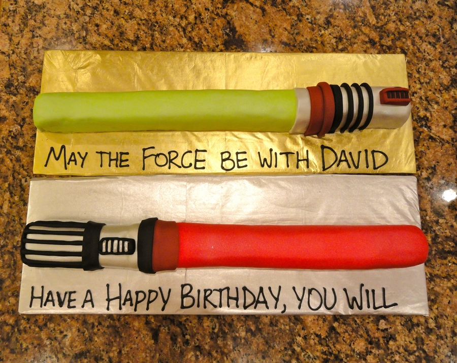May The Force Be With You  on Cake Central