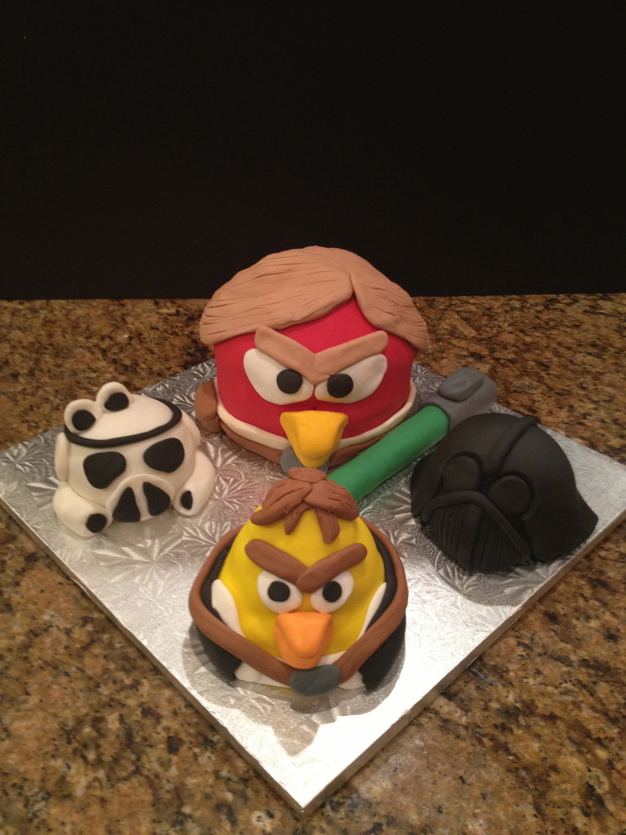 Angry Birds Star Wars Squawk  on Cake Central