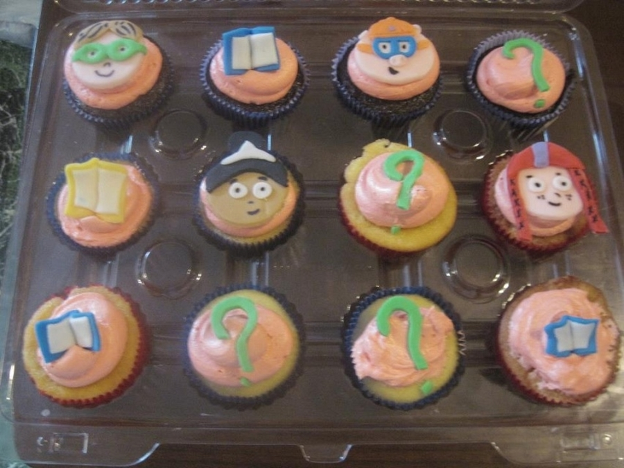 Super Why Cupcakes on Cake Central