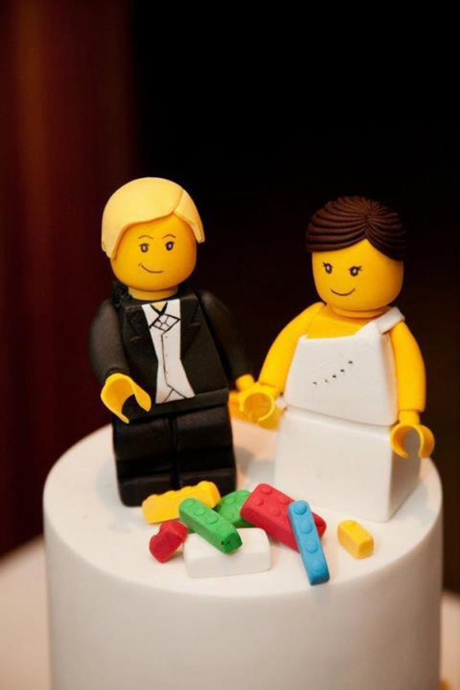 lego wedding cake toppers lego and groom cake topper cakecentral 16791