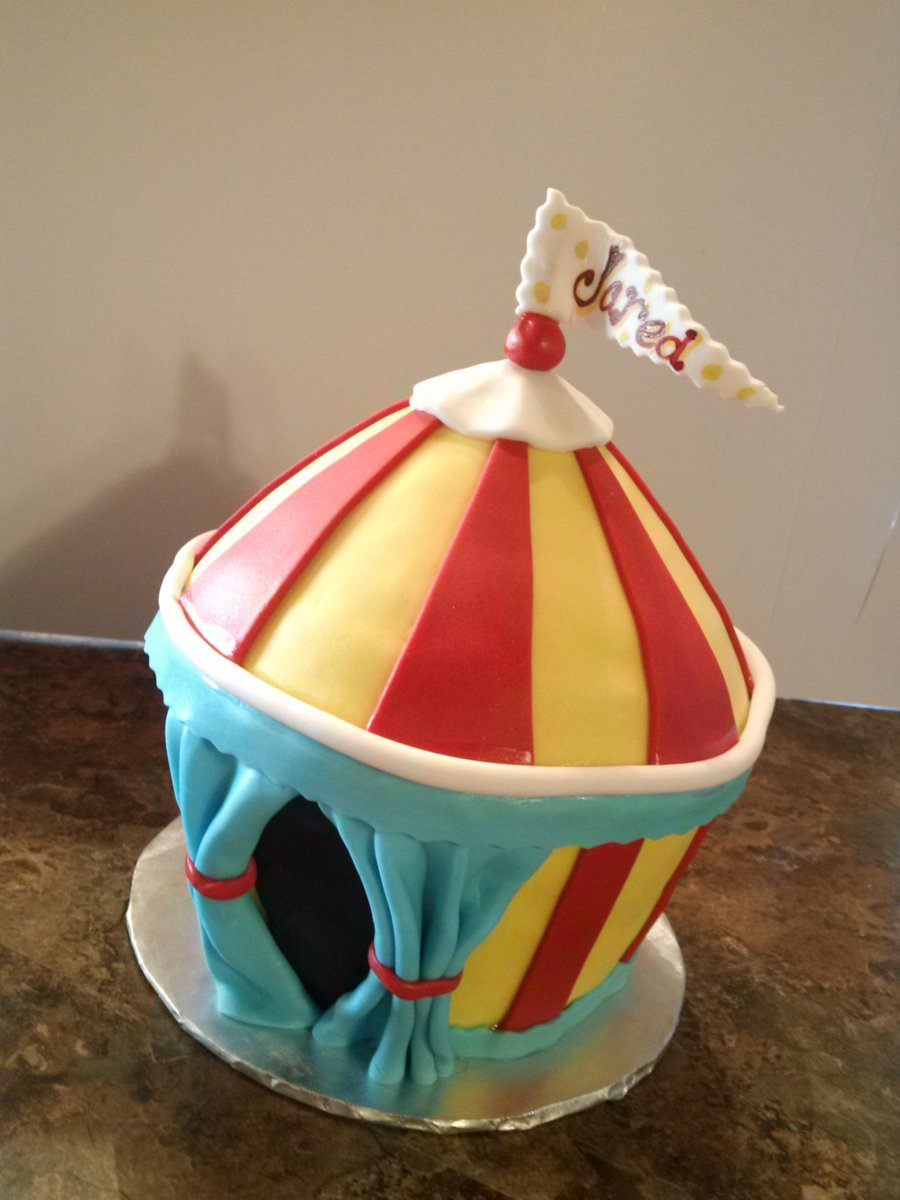 Carnaval Circus Tent on Cake Central