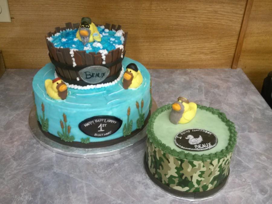 Duck Commander Cake CakeCentralcom