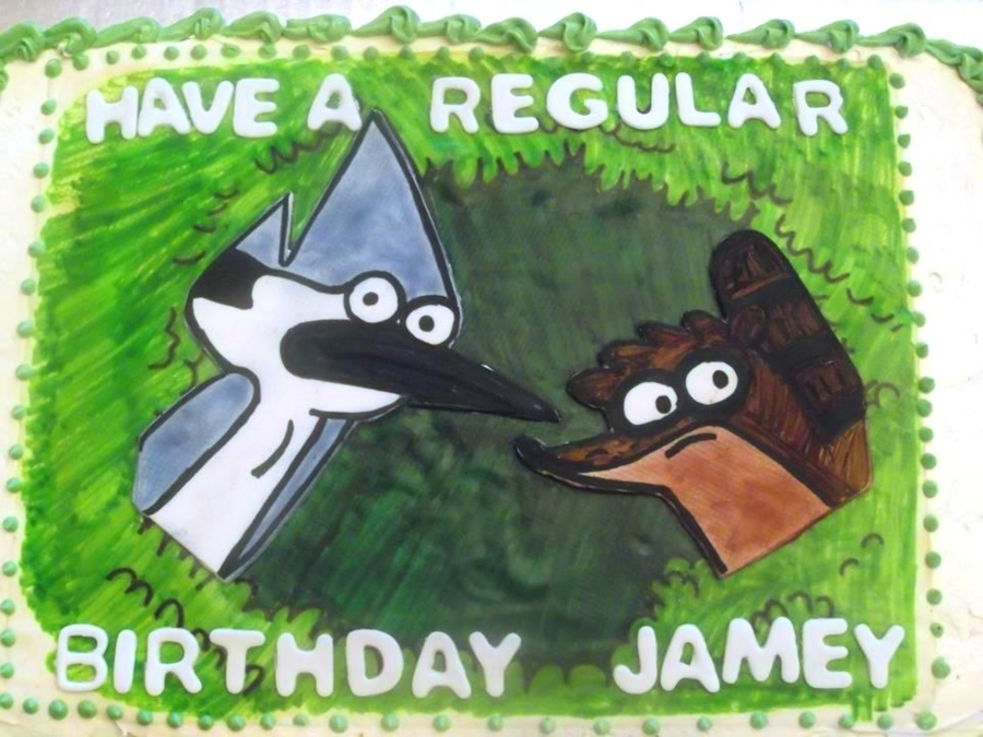 Regular Show Birthday on Cake Central