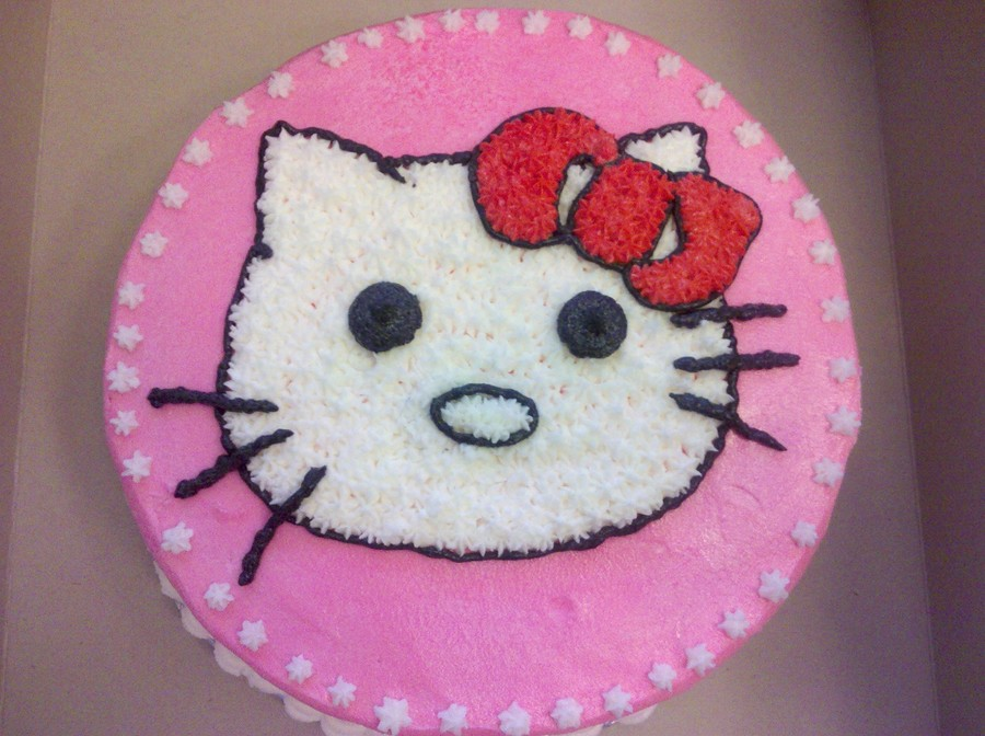 Hello Kitty Second Creation! on Cake Central