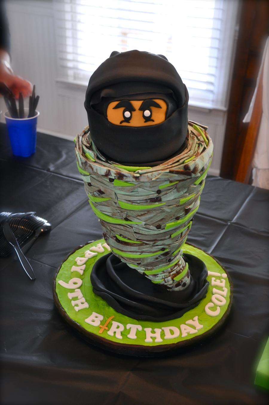 Pleasing Lego Ninjago Birthday Cake Cakecentral Com Funny Birthday Cards Online Inifofree Goldxyz