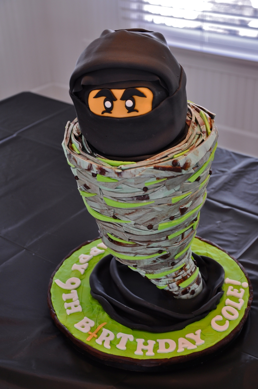Cake Decoration At Coles : Lego Ninjago Birthday Cake - CakeCentral.com
