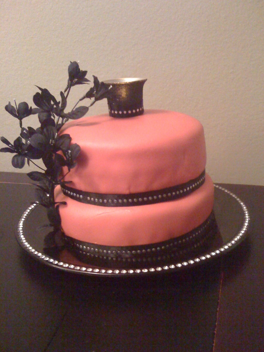 Red And Black Cake on Cake Central