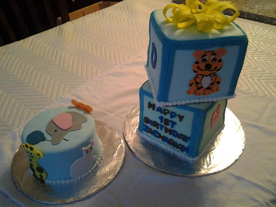 Baby Blocks on Cake Central