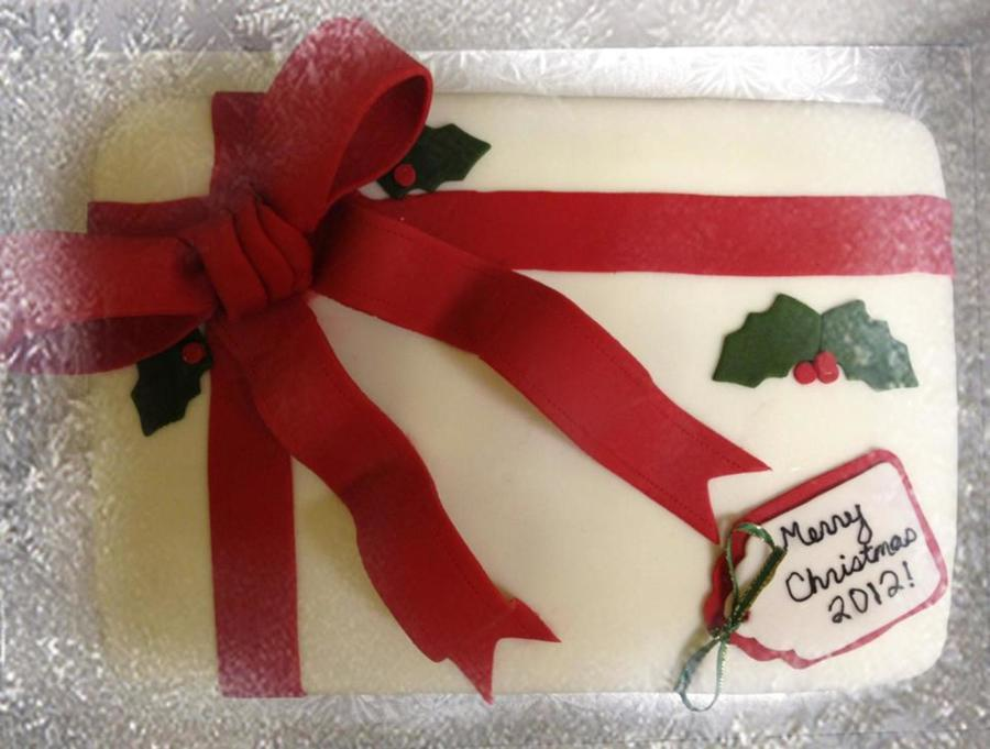 Christmas Present on Cake Central