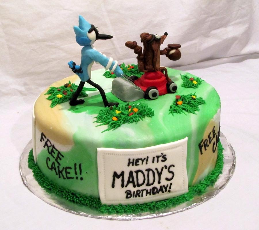 Mordecai Amp Rigby Cakecentral Com