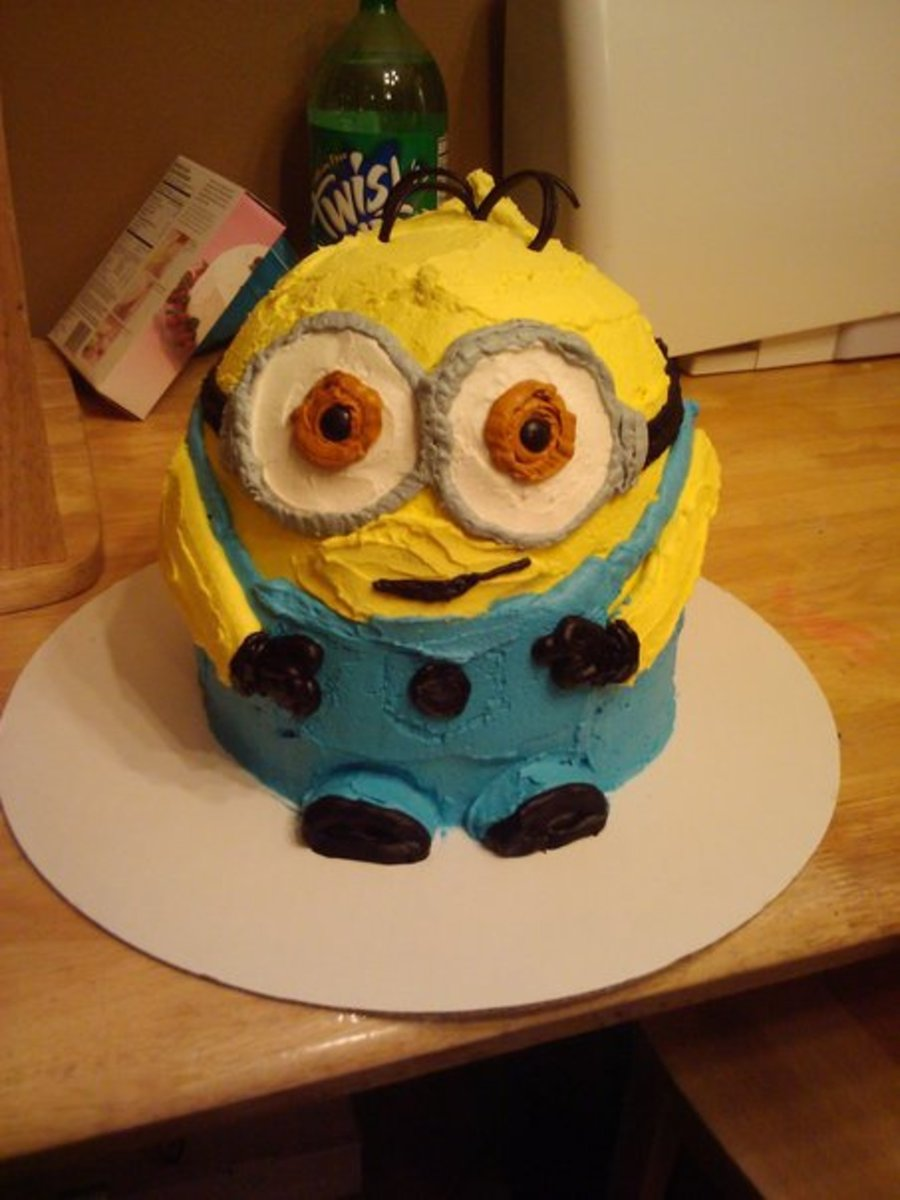 Despicable Me Cake on Cake Central