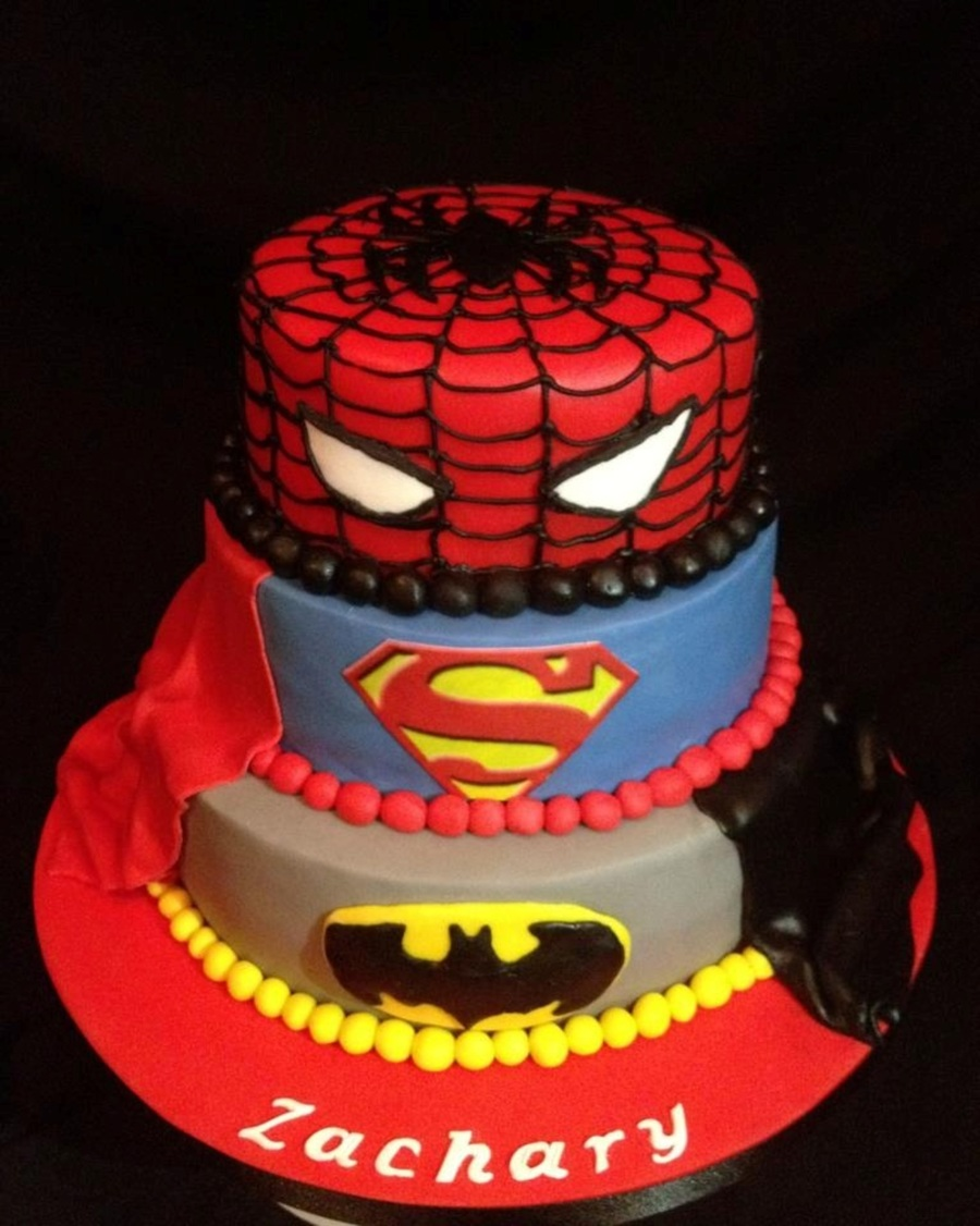 Superhero on Cake Central