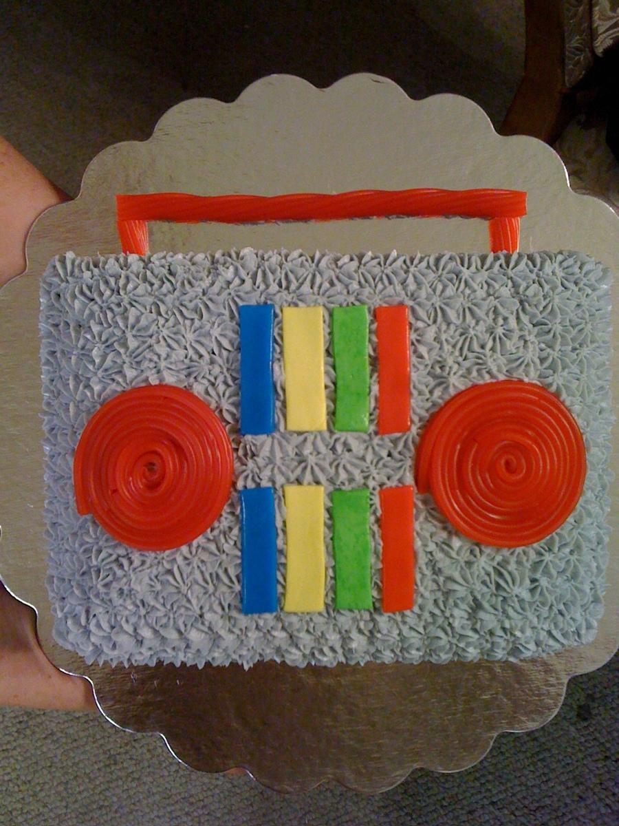 Yo Gabba Gabba Birthday Cake CakeCentralcom
