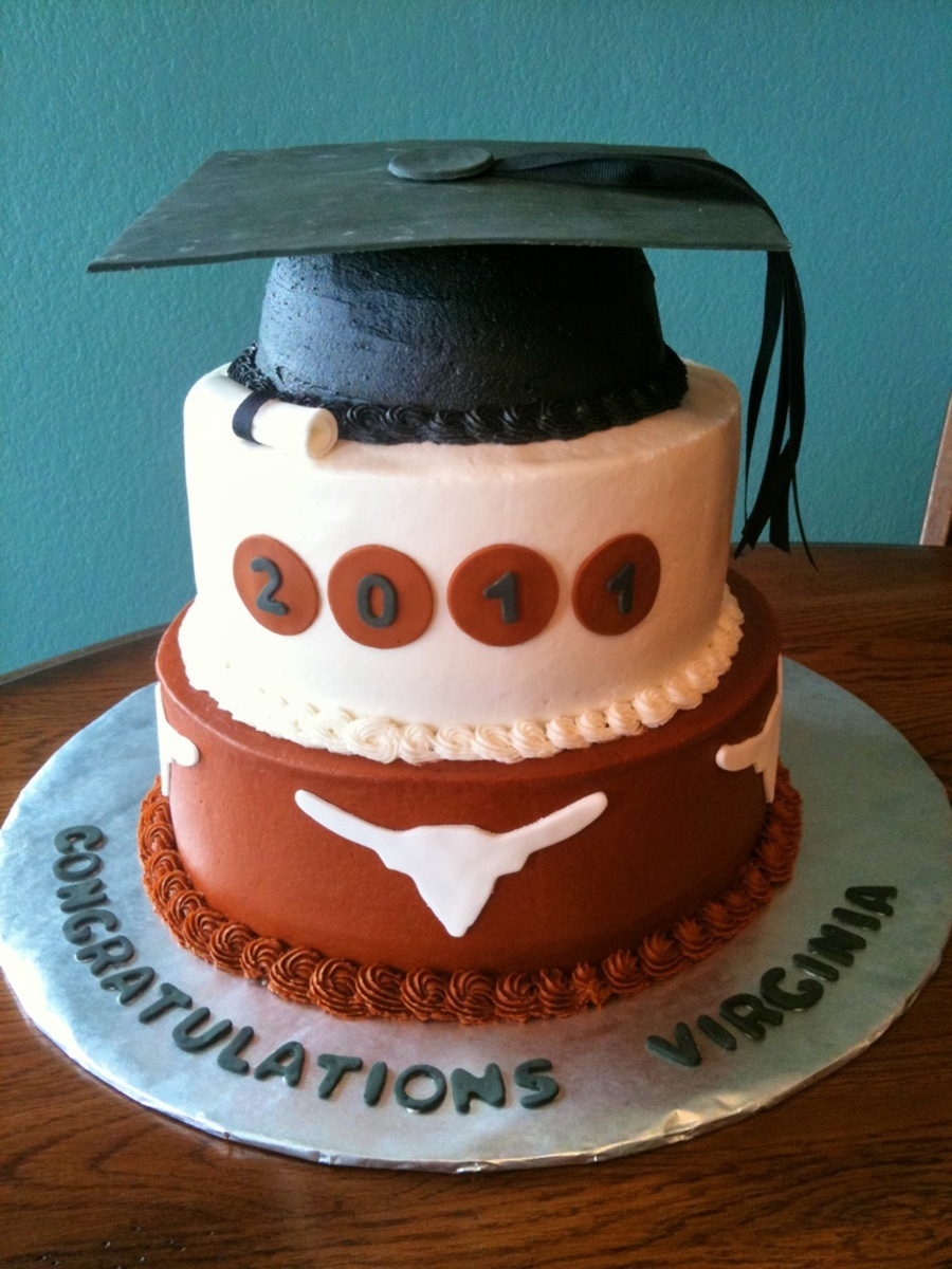 Ut Graduation on Cake Central