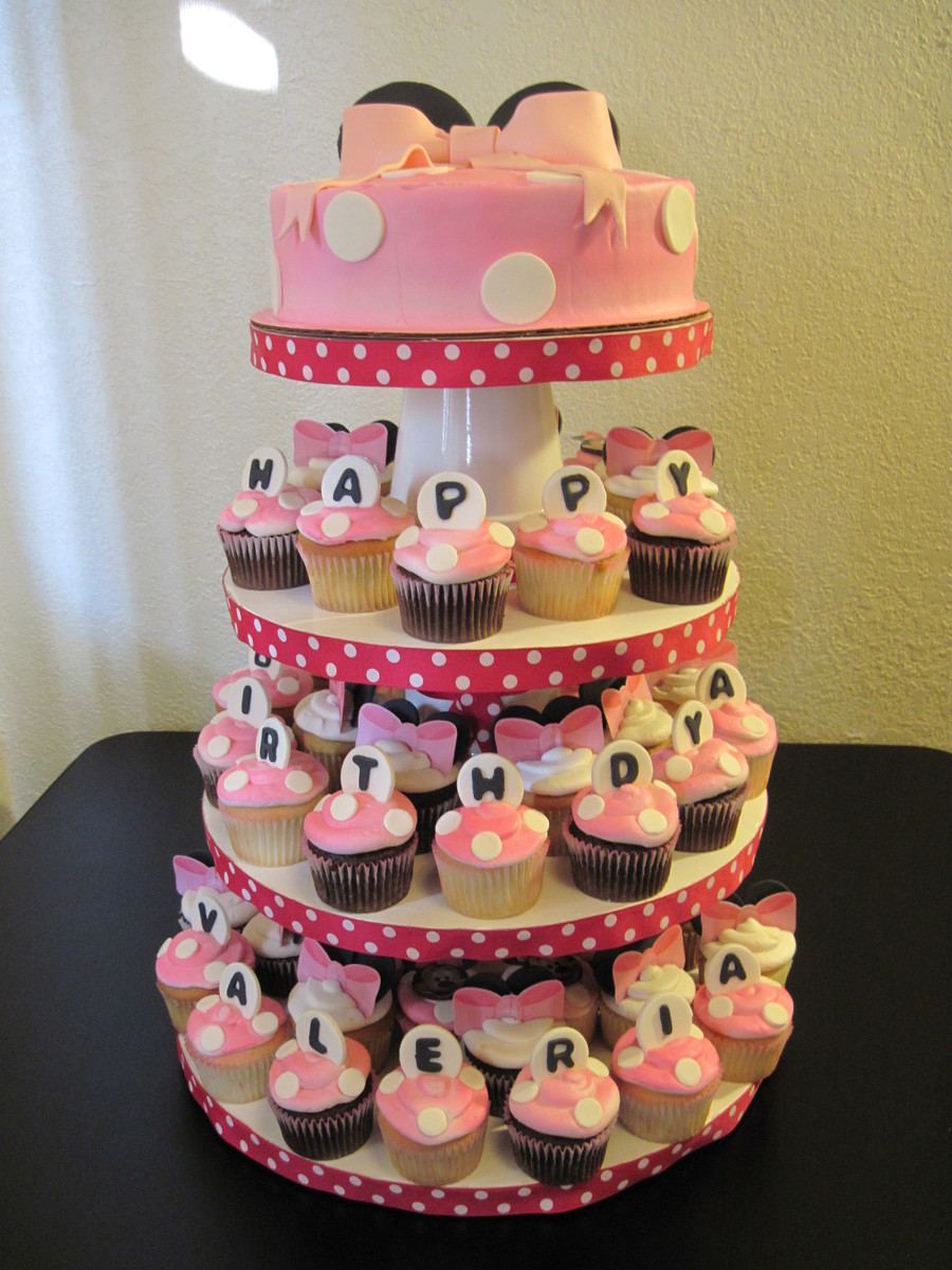 Minnie Mouse Cake Decorating Tutorial