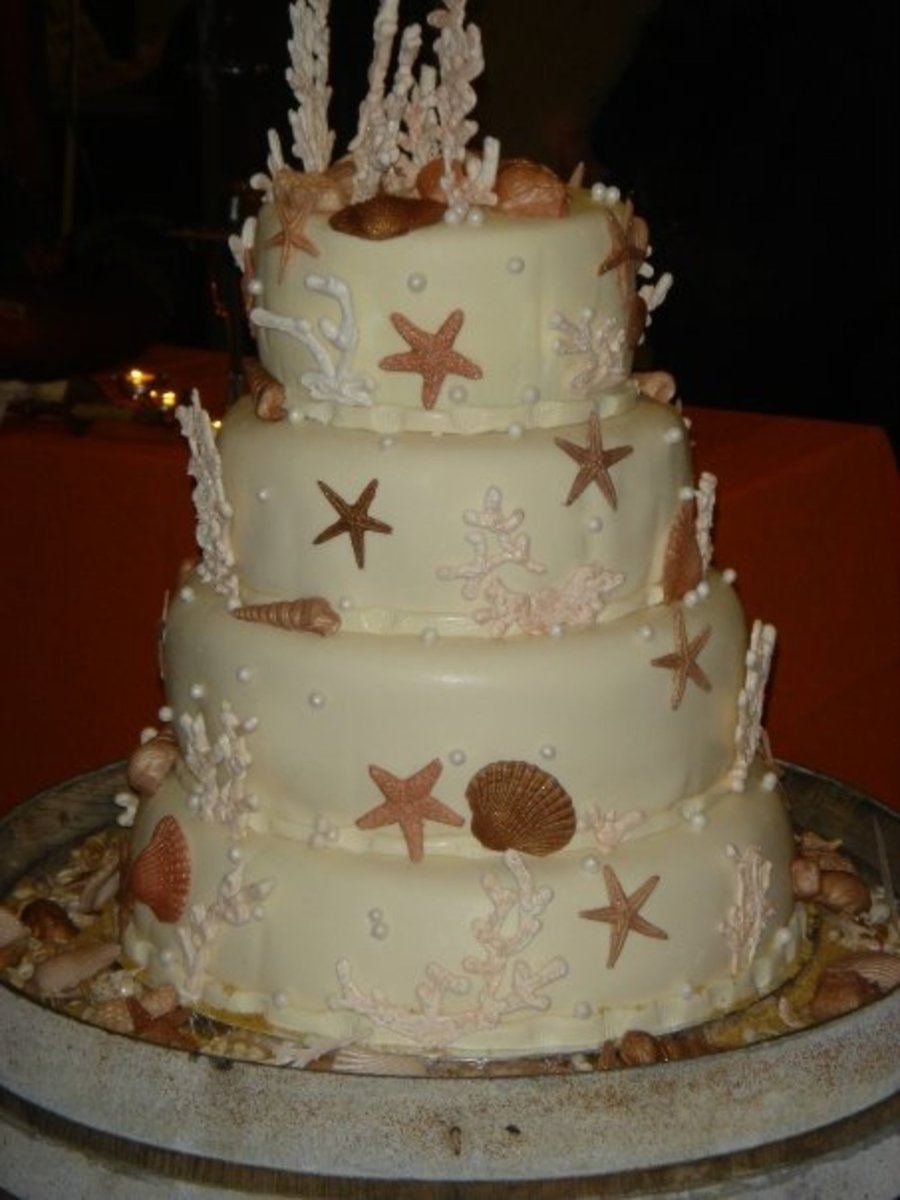 Sea Shells And Corals on Cake Central
