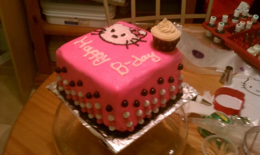 Hello Kitty Birthday Cake Cakecentral