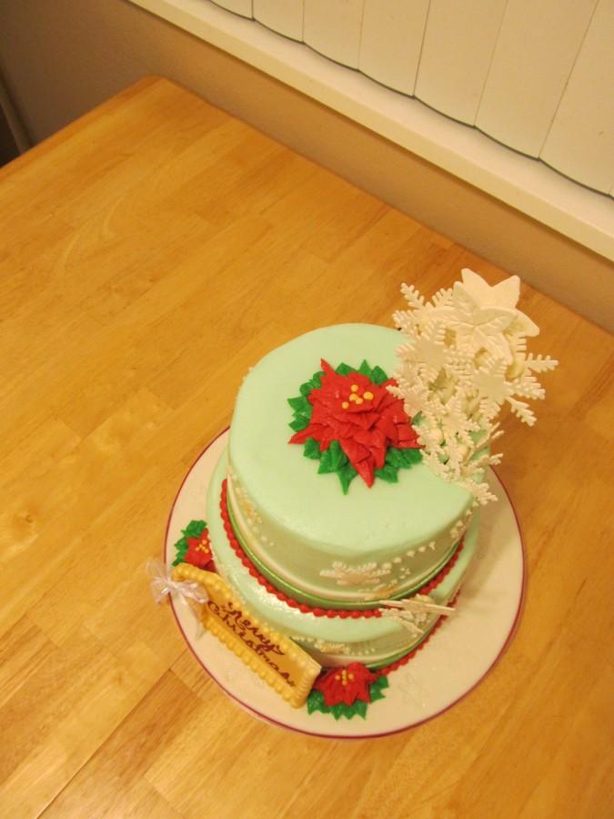 Merry Christmas Cake Images : Merry Christmas Cake - CakeCentral.com