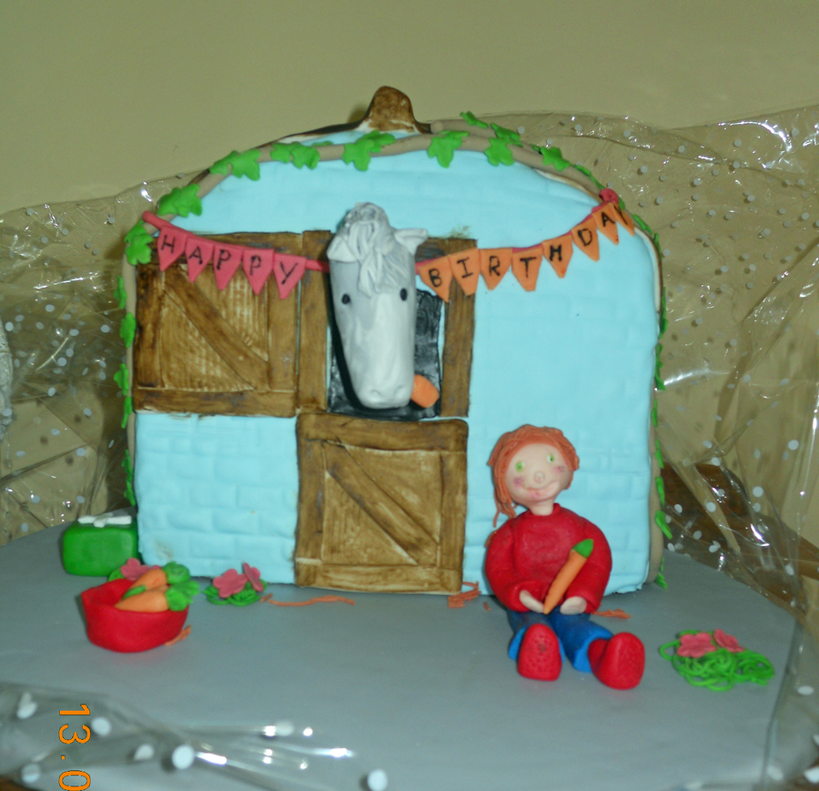 Horse Stable Cake Recipe