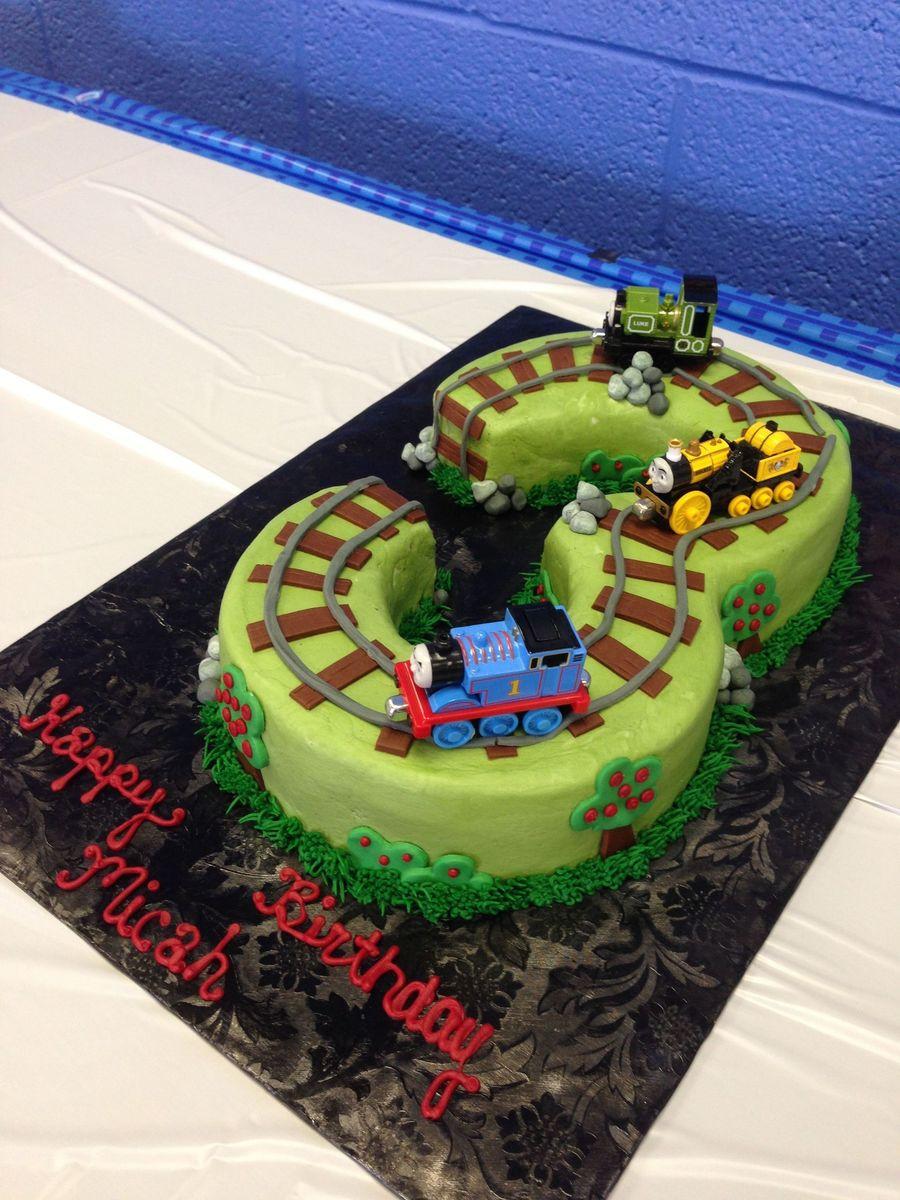 Three Thomas The Train Cakecentral Com