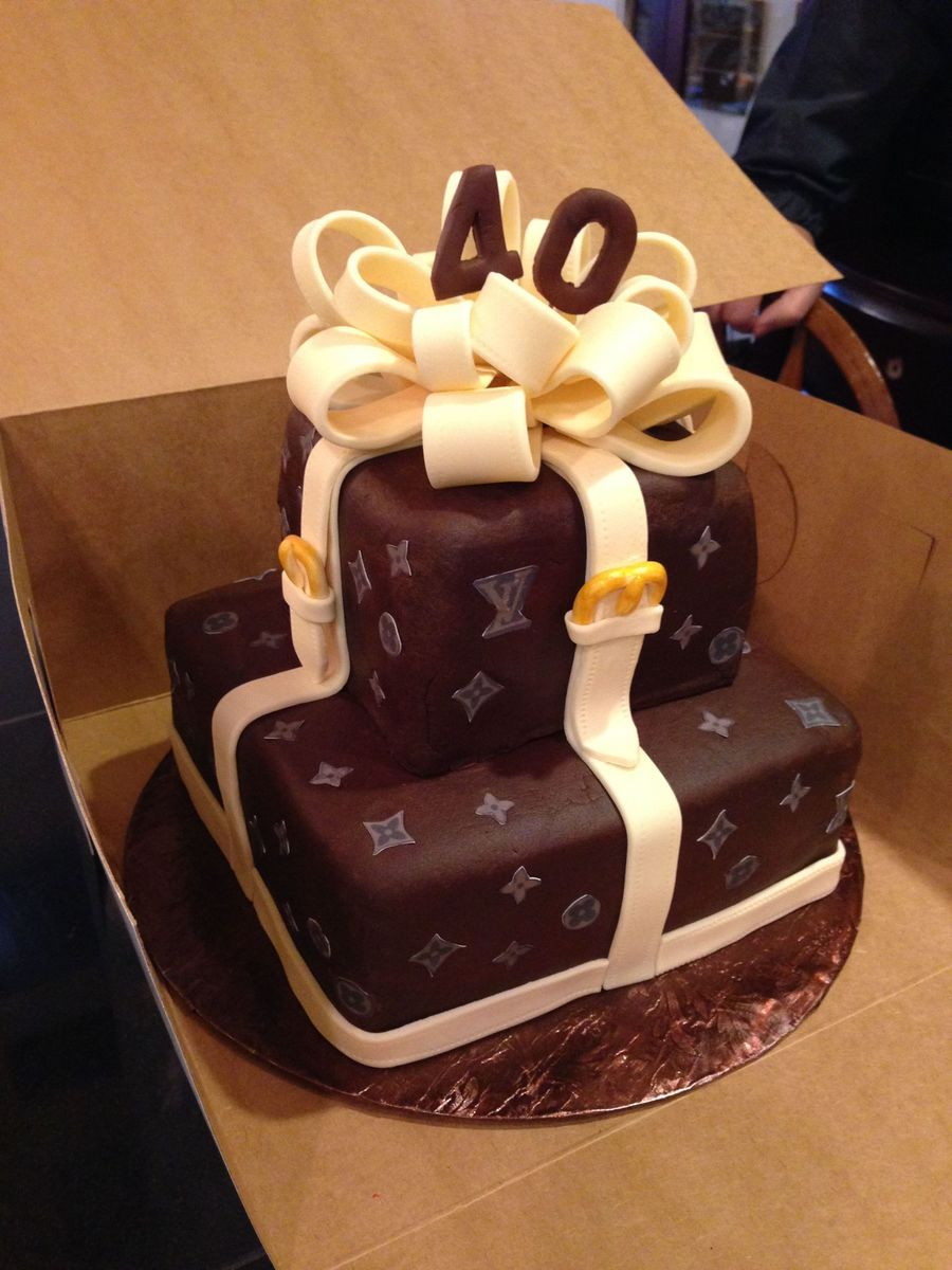 Images Of Louis Vuitton Birthday Cakes