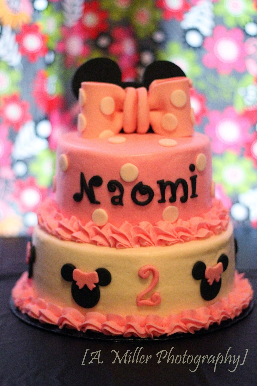 Pink Minnie Mouse on Cake Central