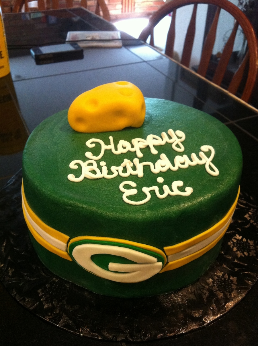 Green Bay Birthday Cake on Cake Central