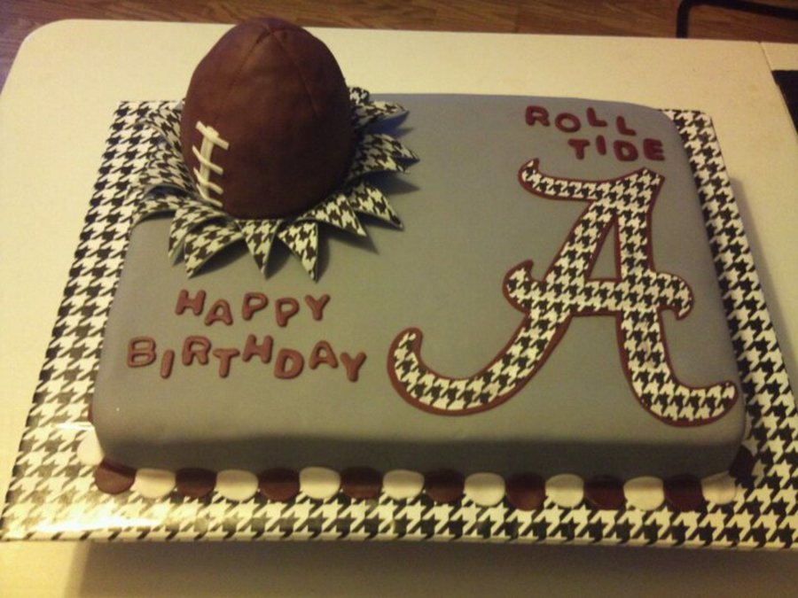 Alabama Roll Crimson Tide Sec Football CakeCentralcom
