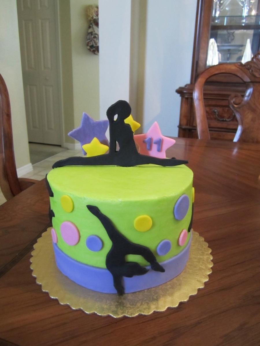 Gymnastics Cakes Images
